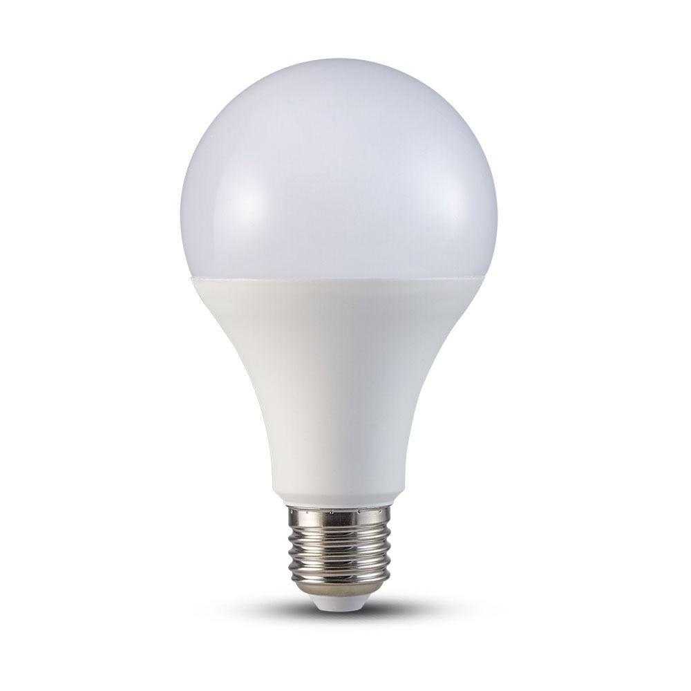Bec LED 20W, E27, A80, Plastic, Lumina Calda 3000K