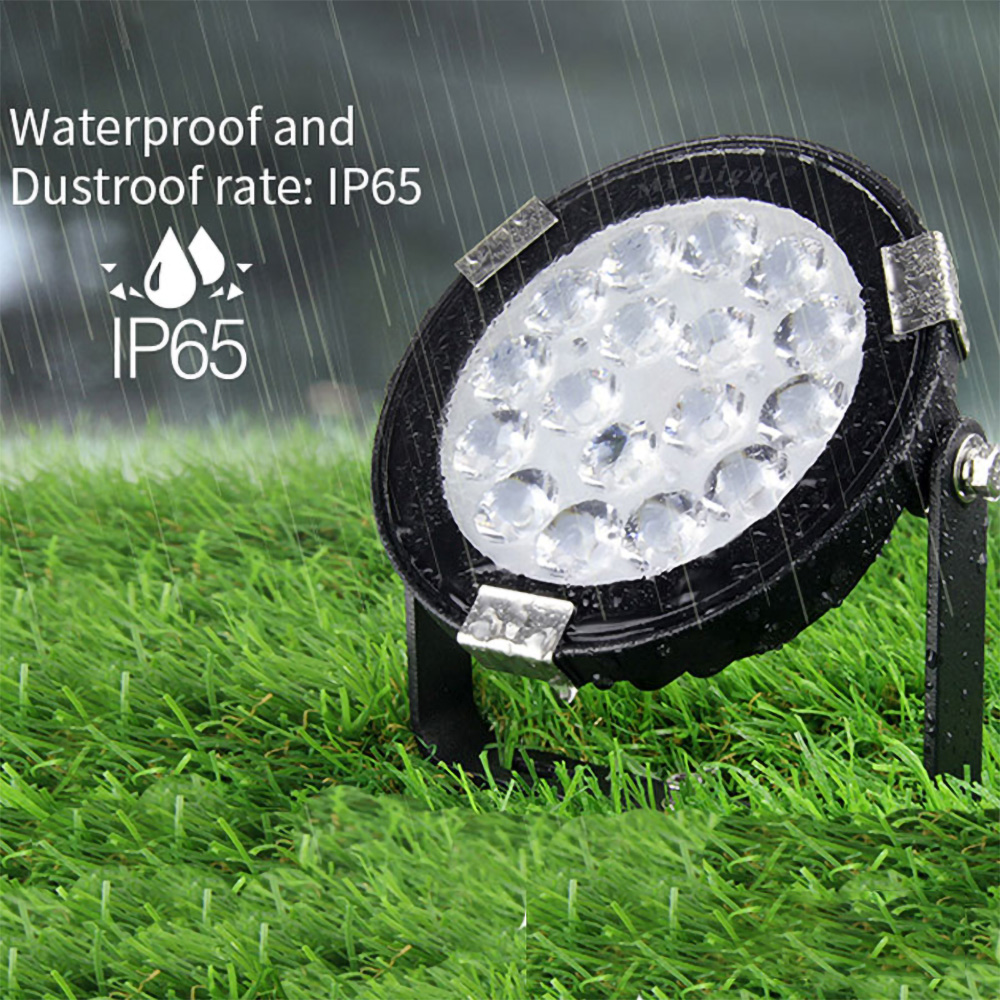 Proiector LED Rotund pentru Exterior 9W, RGB+CCT, IP65