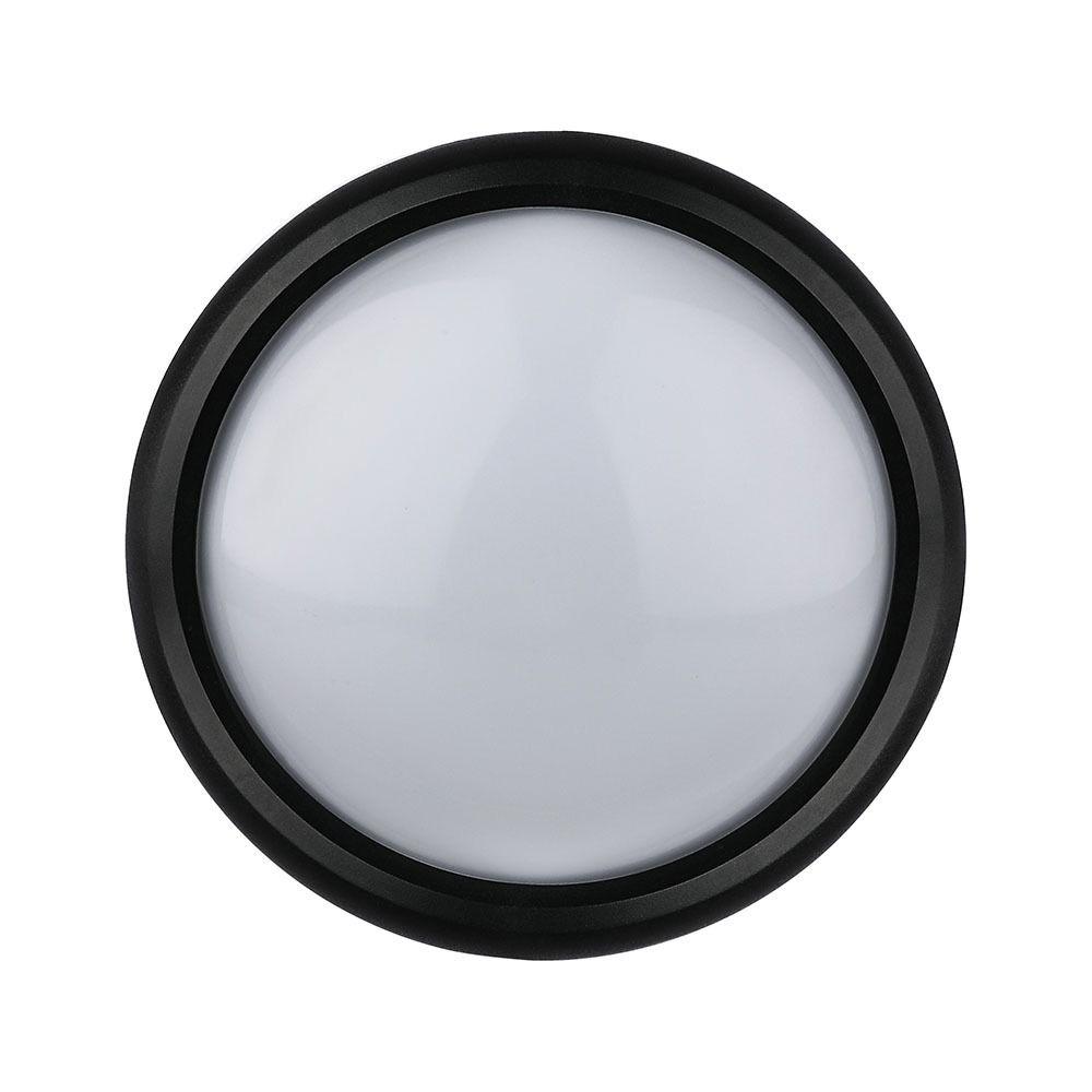Aplica LED 12W Rotunda, Lumina Calda 3000K, Rezistent la Apa IP66