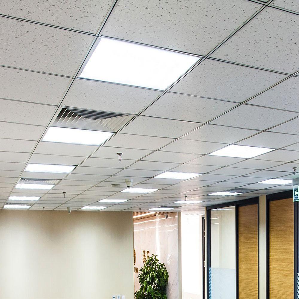 Panou LED 36W, 600x600mm, Lumina Rece 6400K