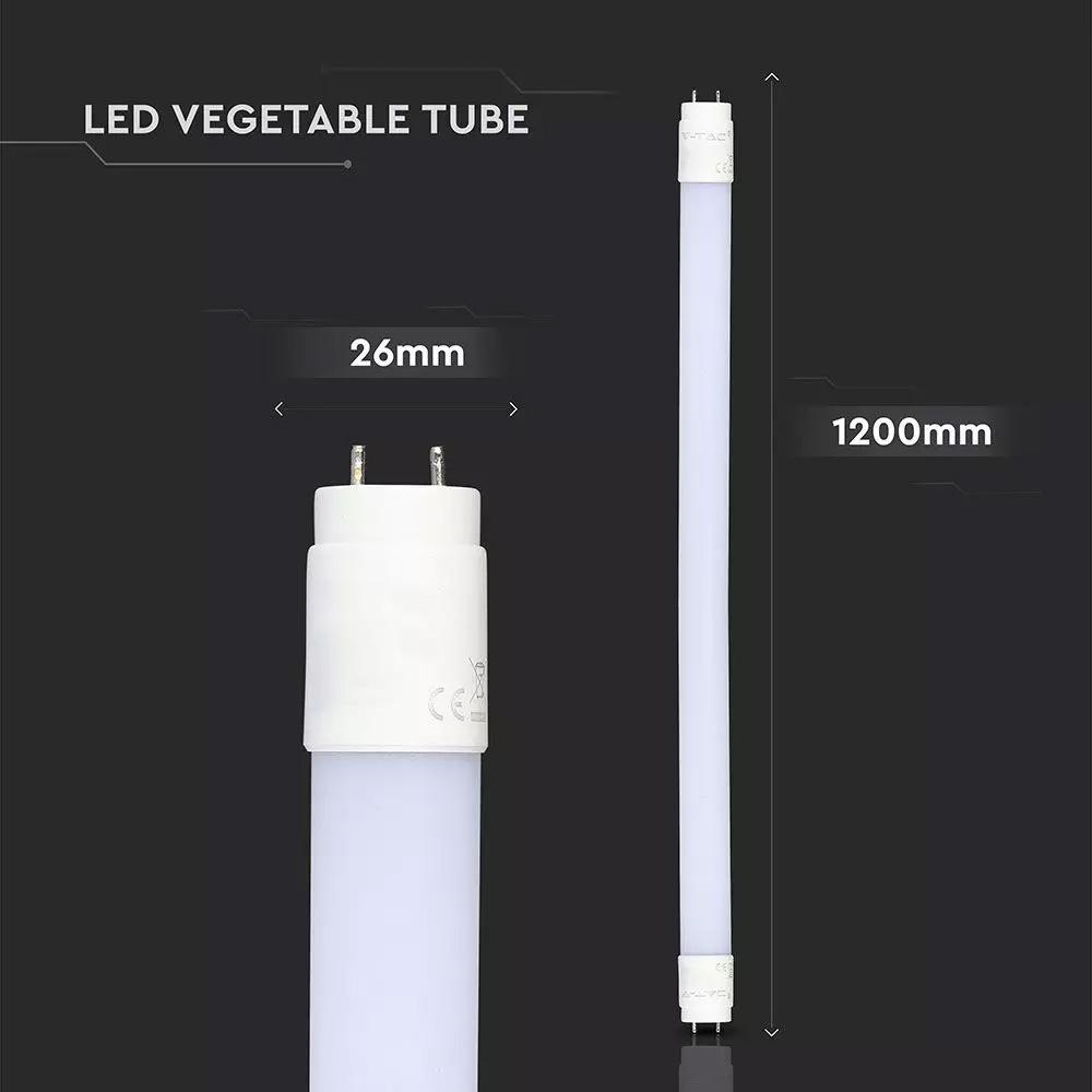 Tub LED T8, 18W, 120 cm, Pentru Legume