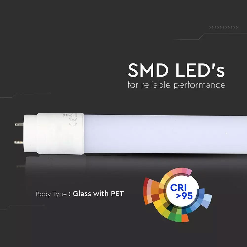 Tub LED T8, 18W, 120 cm, Pentru Fructe de Mare