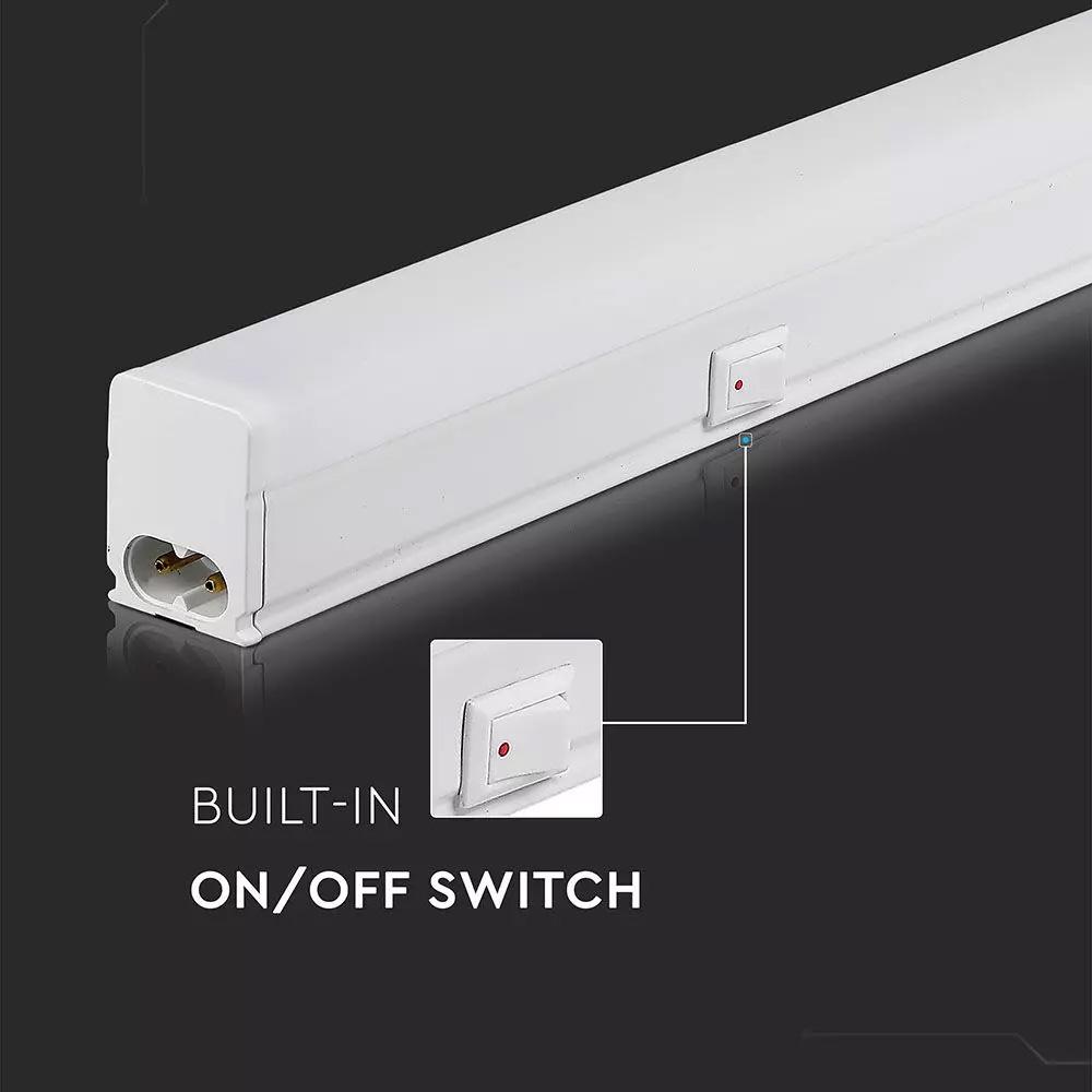Lampa LED 7W model T5, 60cm, Lumina Naturala (4000K) cu Chip SAMSUNG