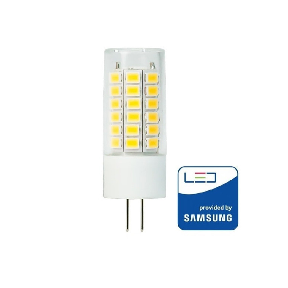 Bec LED G4, 3.2W, 12V, Lumina Naturala 4000K cu Cip Samsung