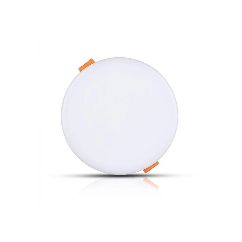 Panou LED 12W, Ajustabil, Rotund, Lumina Calda 3000K-Cip SAMSUNG