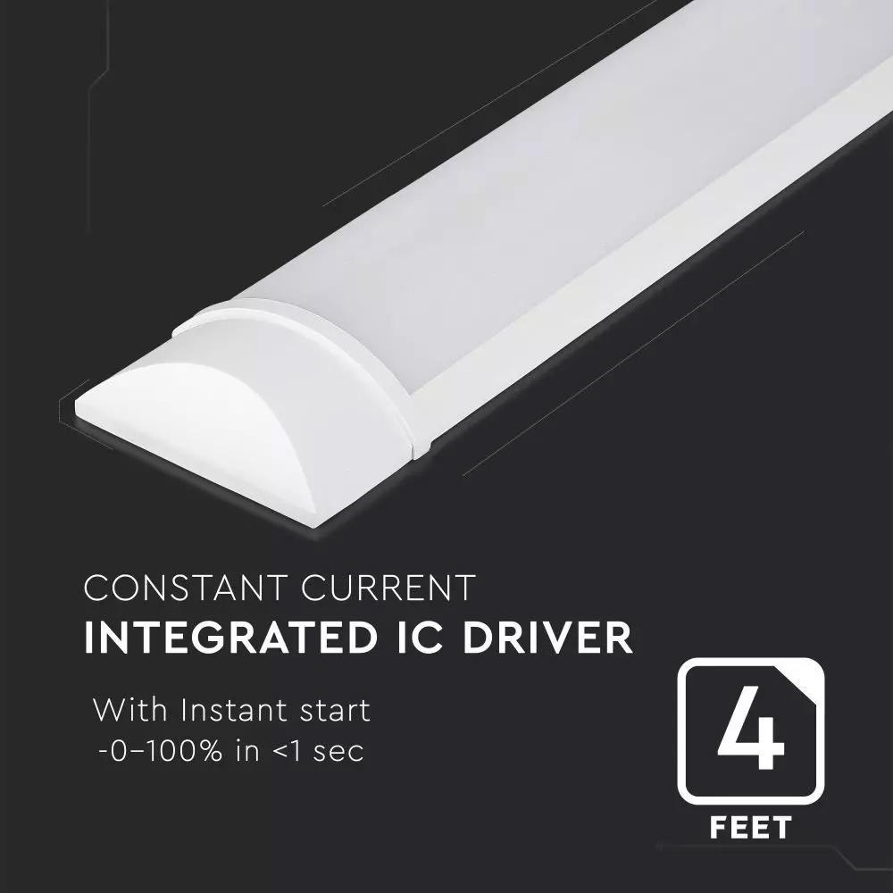 Lampa LED 30W, 160LM/W, 120cm, Lumina Naturala (4000K) 5 Ani Garantie