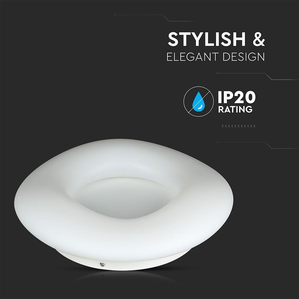 Aplica LED 39W, Rotunda cu schimbare temperatura de culoare, Dimabila