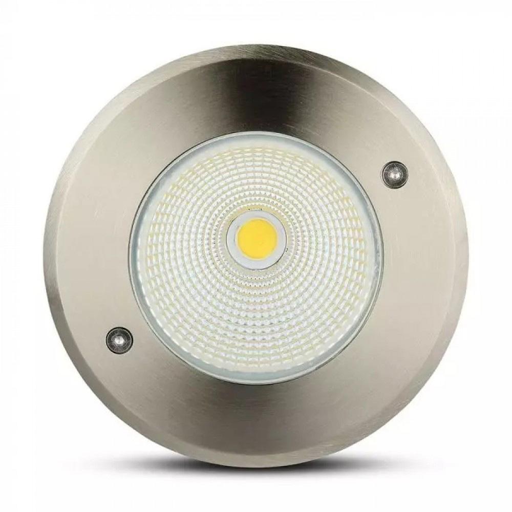Spot LED de Paviament 12W, 750LM, Rotund, Lumina Naturala (4000K)