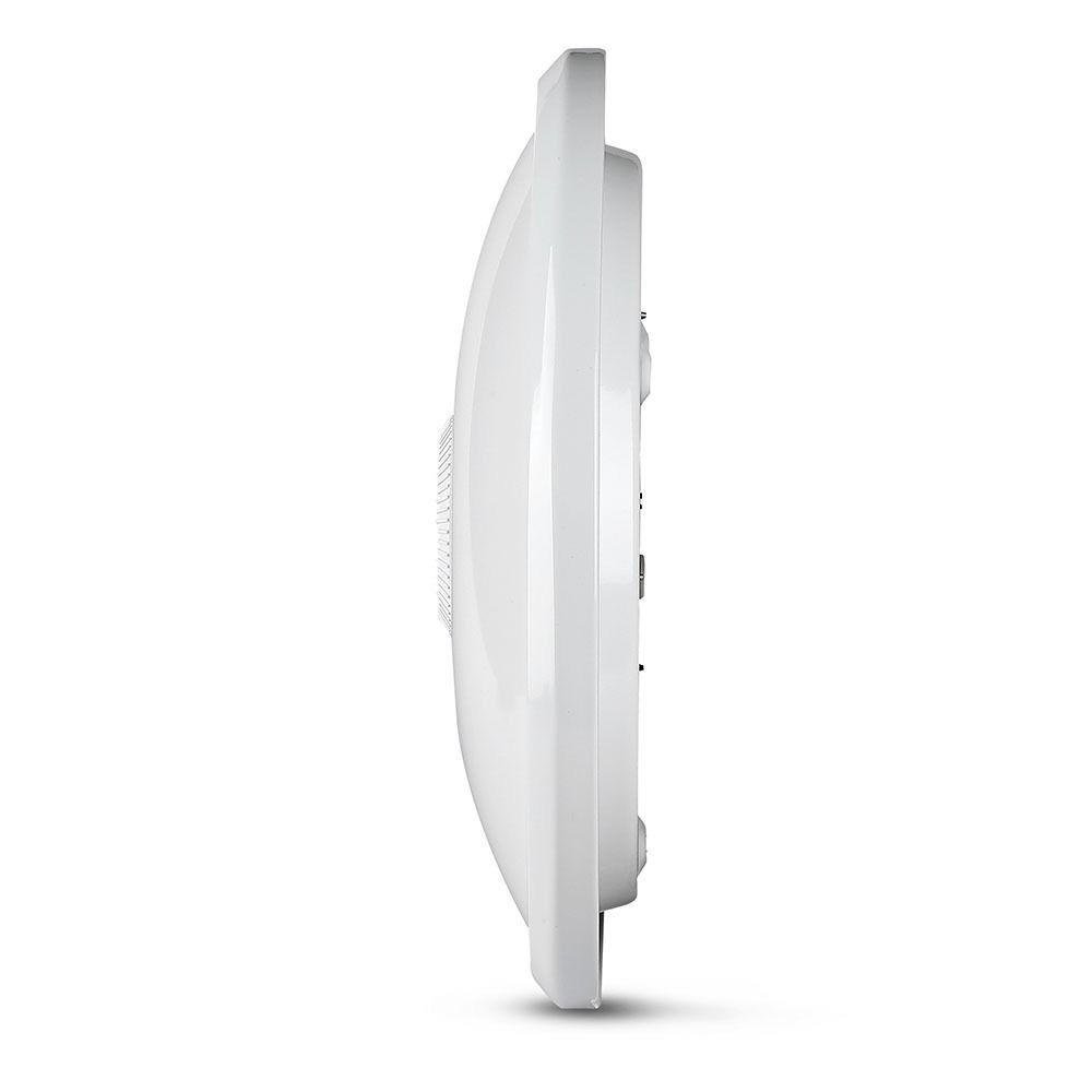 Aplica LED cu Senzor 12W, Lumina Rece 6400K Cip Samsung