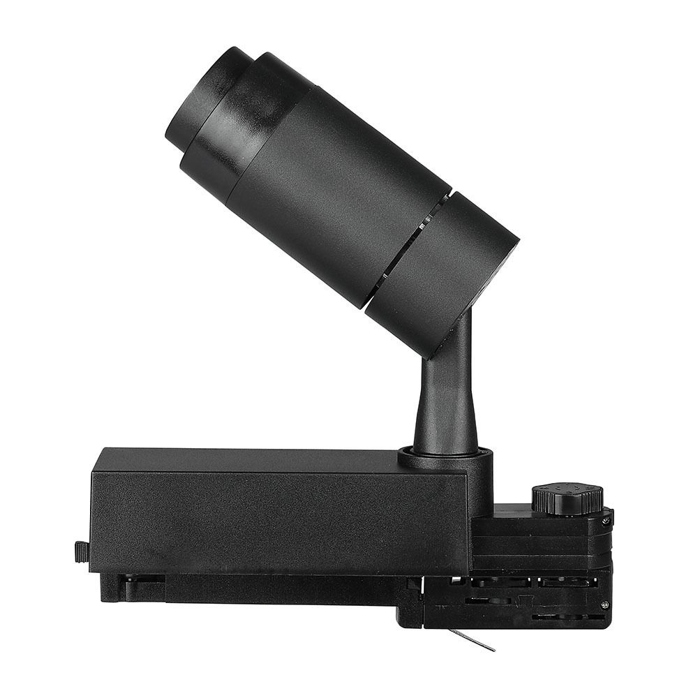 Proiector LED pe sina 18W, Corp Negru, Lumina Calda Cip SAMSUNG
