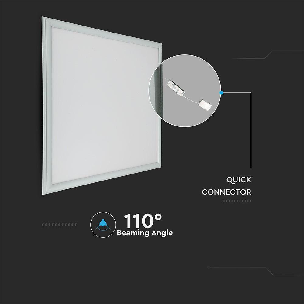 Panou LED 45W, 600 x 600mm, 4000K cu Kit Emergenta LED, Autonomie 3 ore