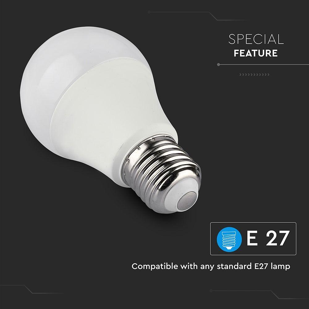 Bec LED WIFI RGB + WW + CW 10W, E27, A60, SMART