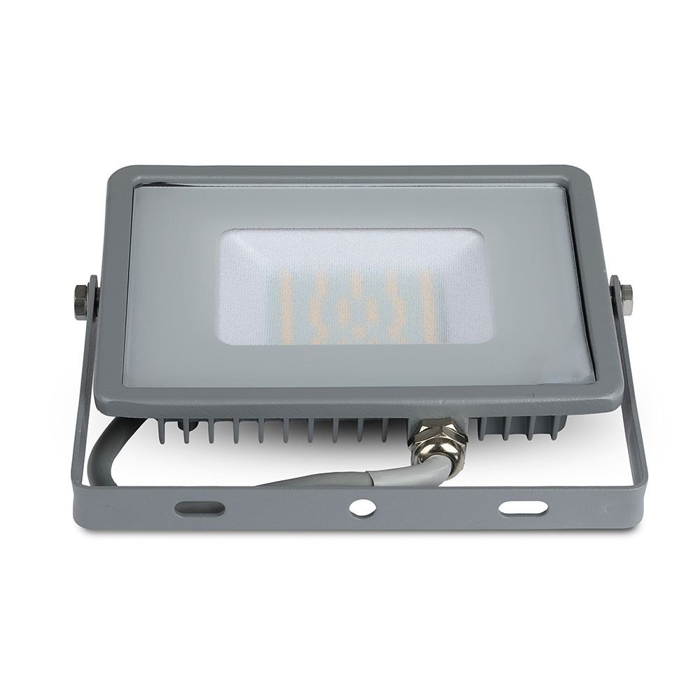 Proiector LED 30W, Corp Gri, Lumina Rece CIP SMD SAMSUNG