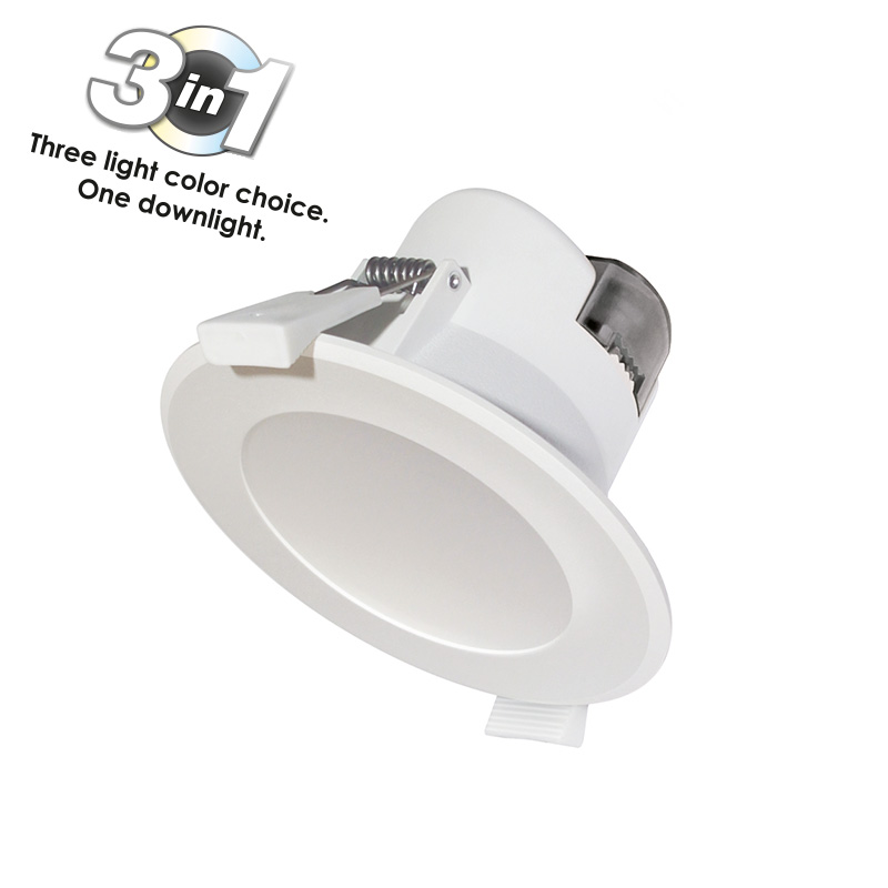 Spot LED Wave 25W cu 3 Temperaturi de Culoare (cald, natural si rece) IP44