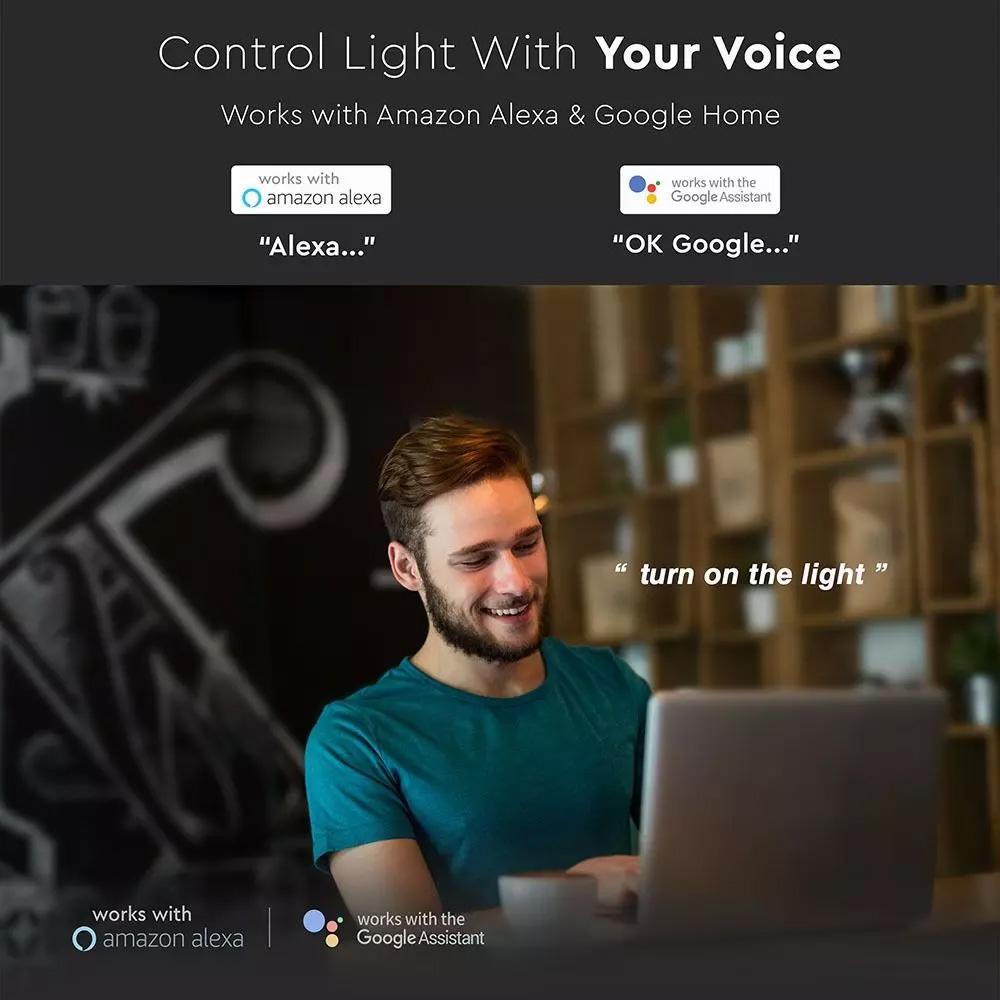 Aplica LED 40W, Smart 3 în 1 Cu Dispersor Instelat