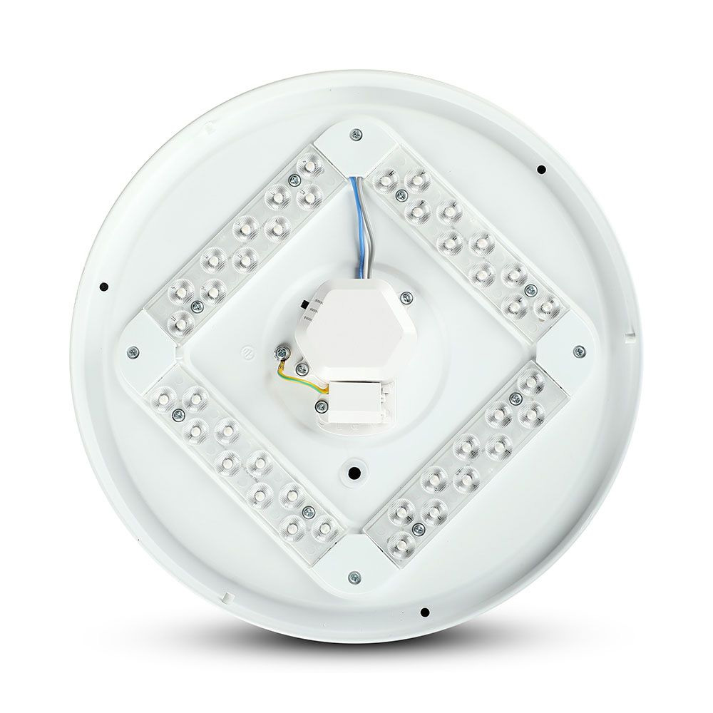 Aplica LED Rotunda 36W, 1440lm, CCT:3 in 1, Dispersor Mat, Diam. 450mm