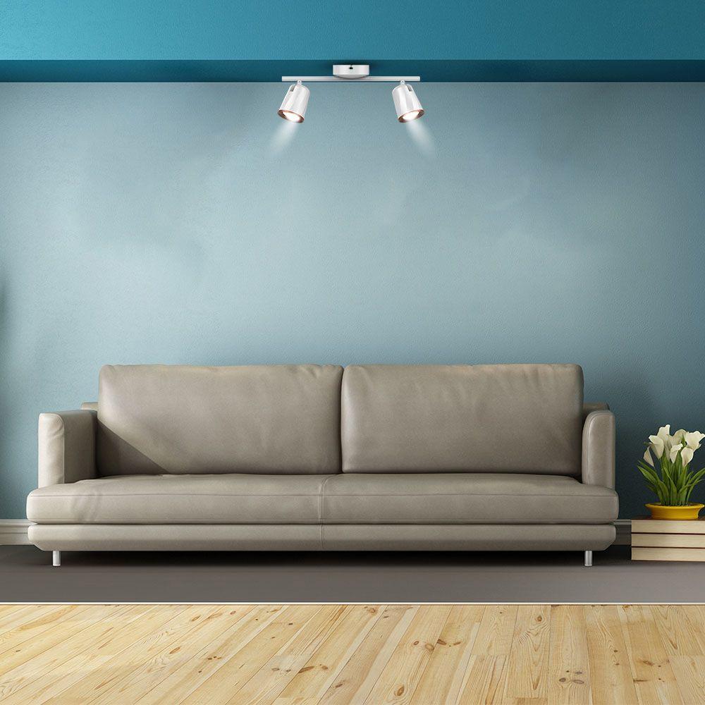 Lampa de perete LED cu 2 reflectoare de 6W, 4000K