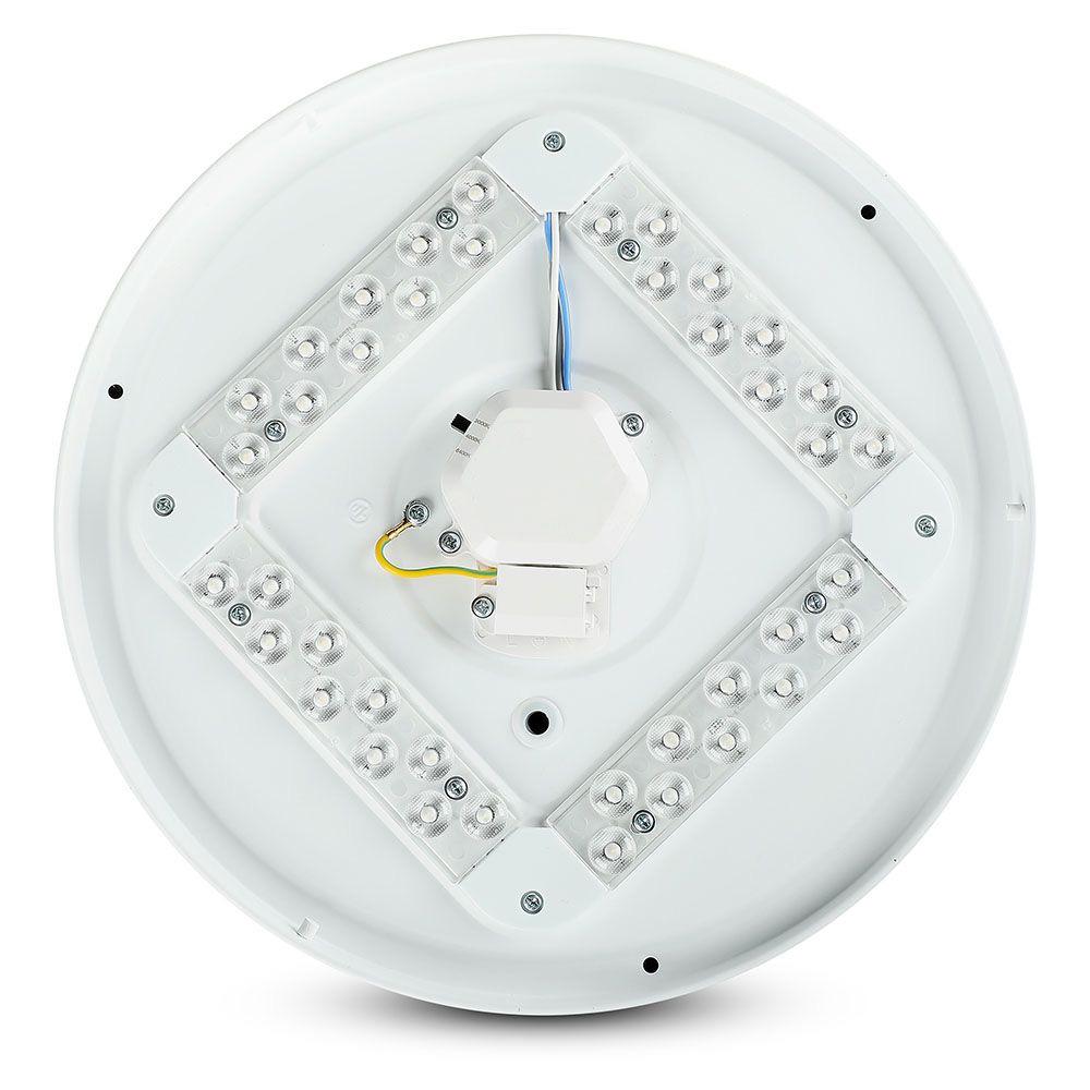 Aplica LED Rotunda 36 W, CCT: 3 in 1, Dispersor Instelat