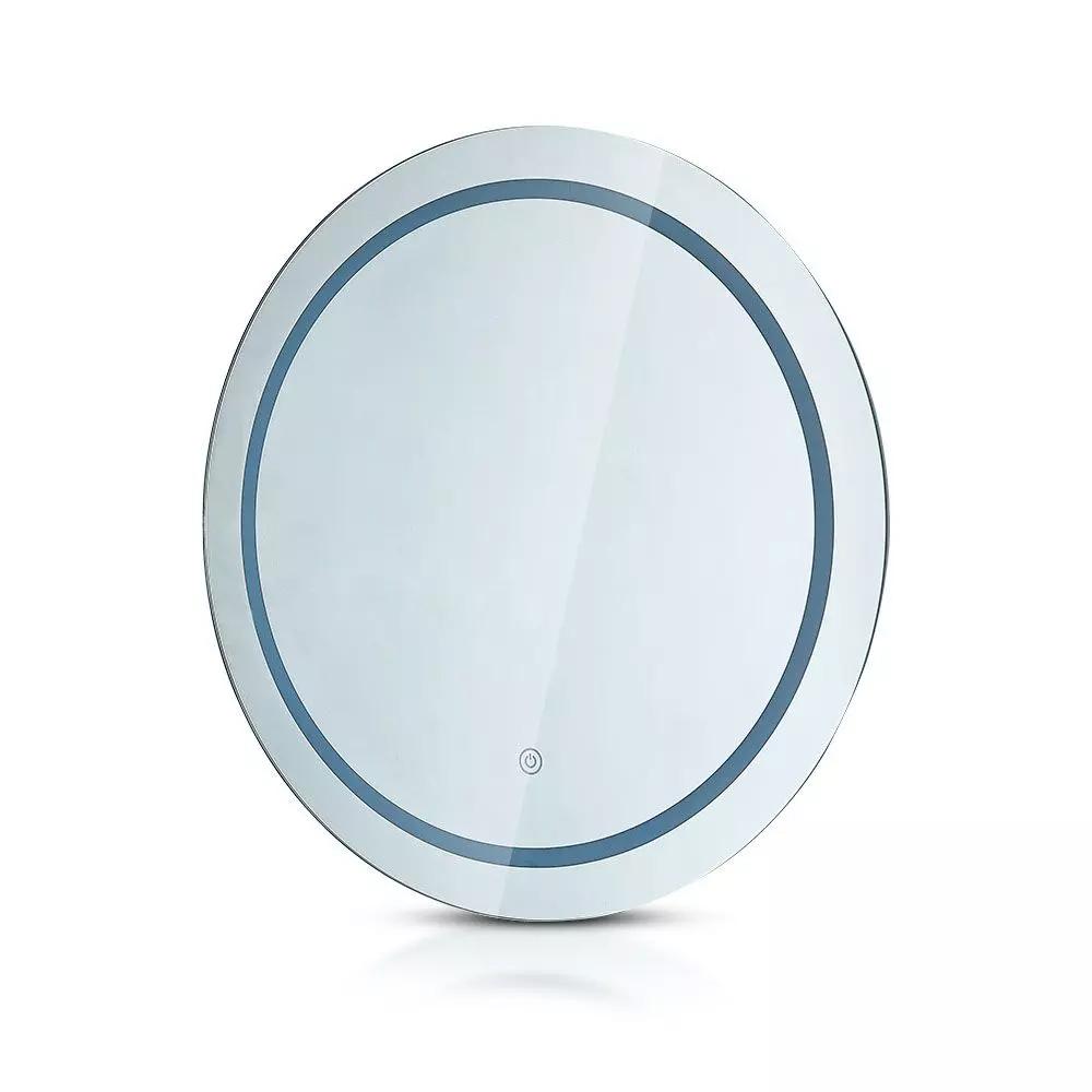 Oglinda Led Rotunda 25 W cu intrerupator tactil 3-in-1, 600 mm