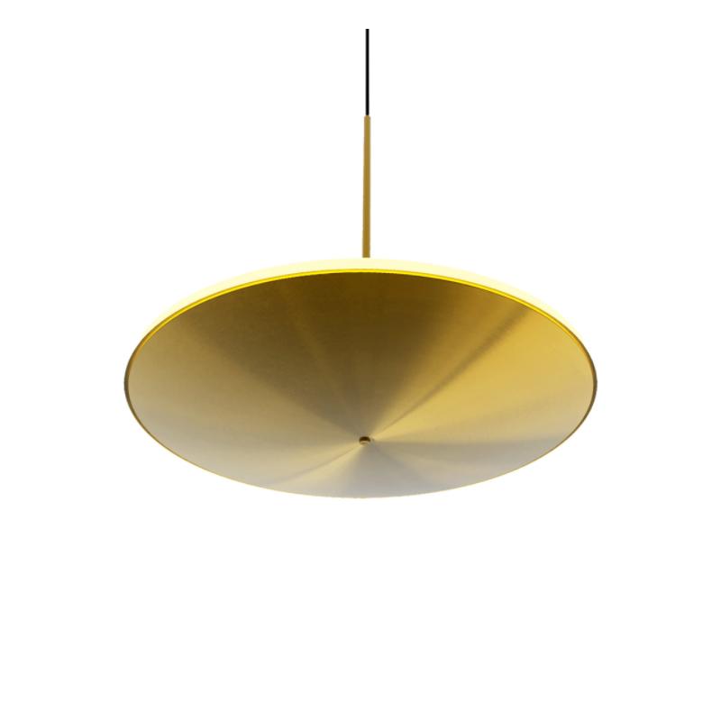 Pendul 16W, metal auriu, 40 cm 3000K