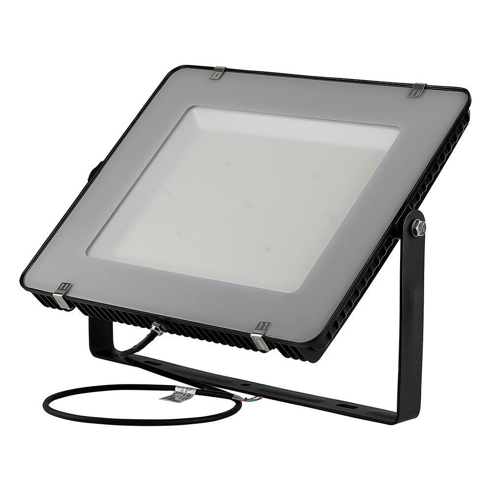 Proiector LED 300W Cip SAMSUNG SLIM Negru 36000LM LUMINA NATURALA