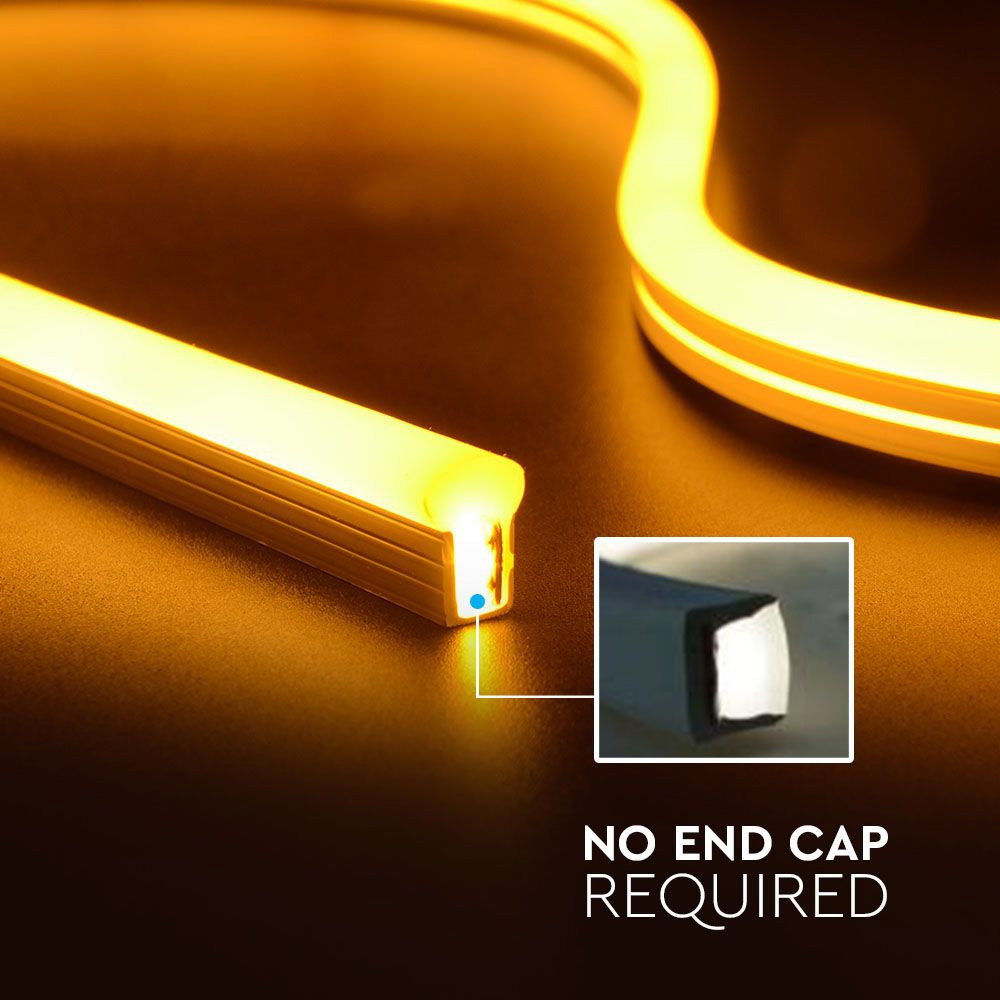 Neon Flexibil 24V, 6.5W/M IP68, Lumina Naturala (4000K)