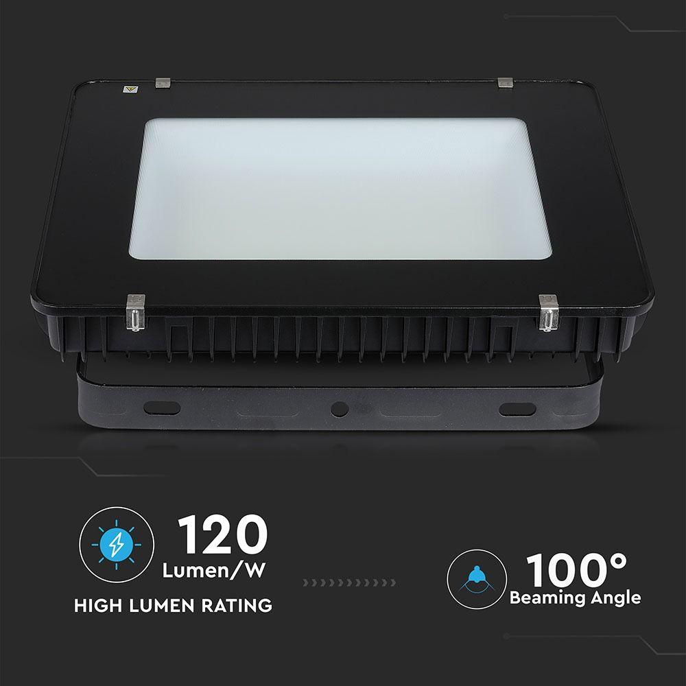 Proiector LED 500W, 120LM/W, Slim, Corp Negru, Lumina Naturala Cip SAMSUNG