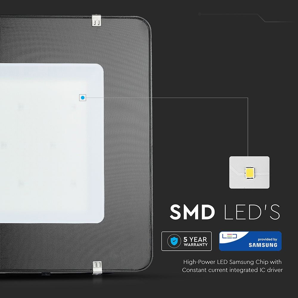 Proiector LED 400W, 120LM/W, Slim, Corp Negru, Lumina Naturala Cip SAMSUNG