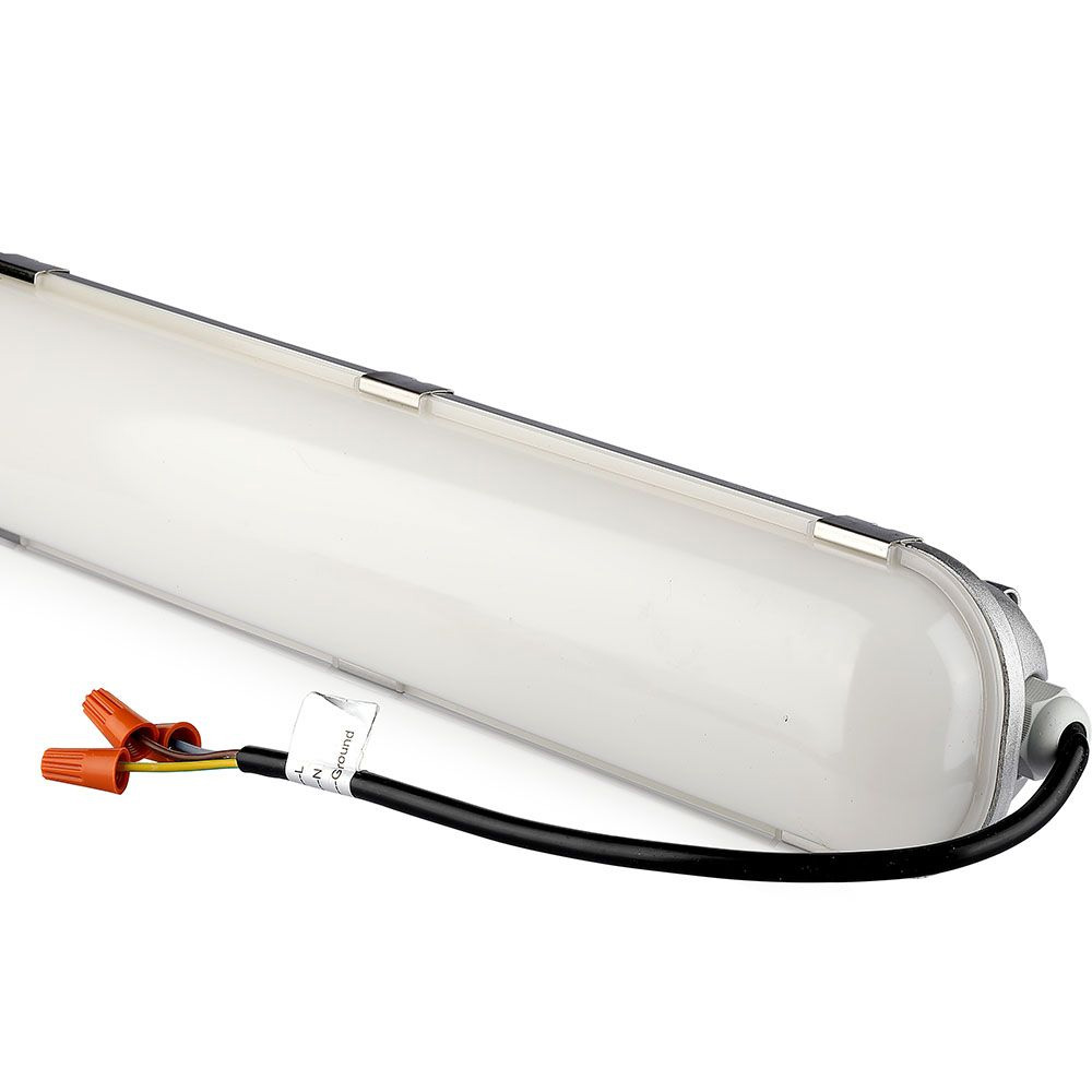 Lampa Liniara LED Impermeabila 60W, 1.2m, Aluminiu, Lumina Naturala (4500K) Cip Samsung, A++