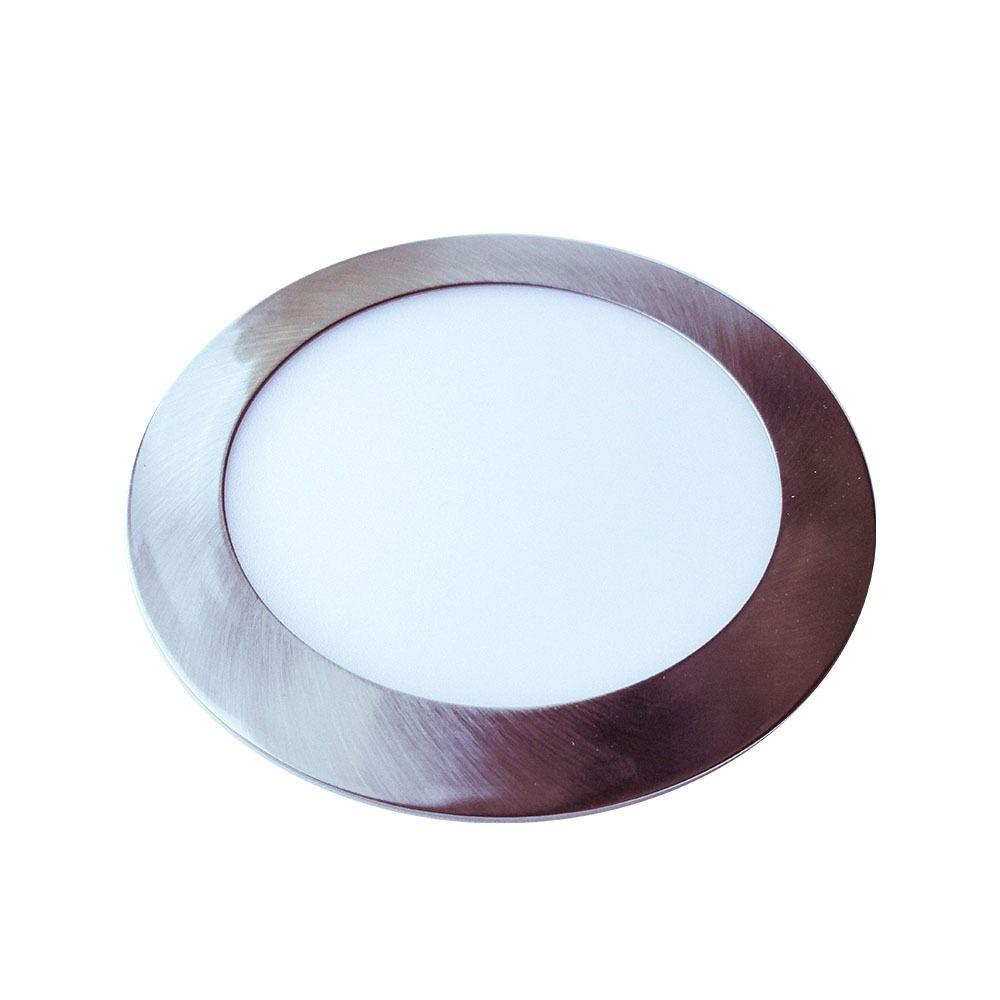Panou LED Slim 24W Rotund Lumina Naturala, 2000 Lumeni