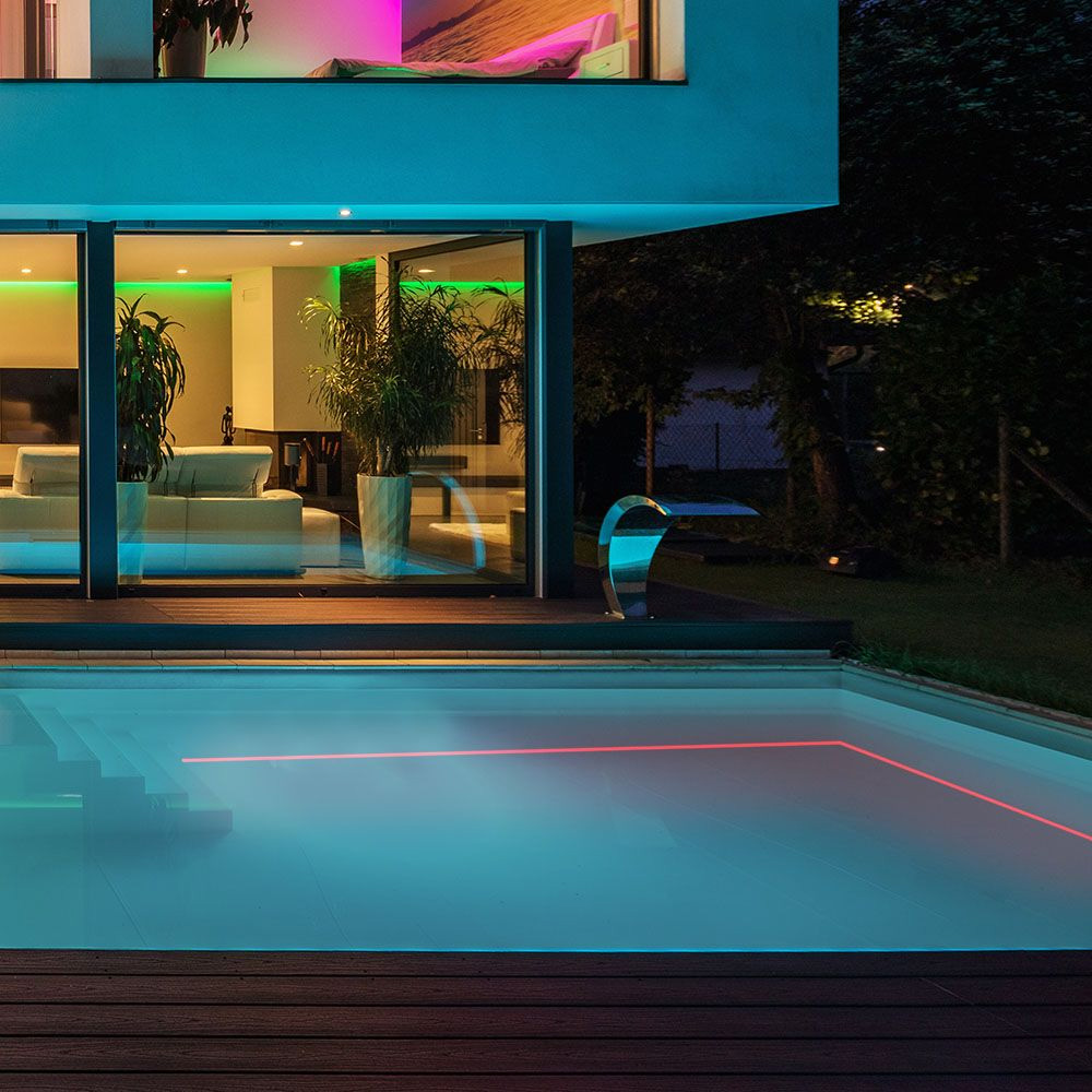 Neon Flexibil 24V, 6.5W/M IP68, Lumina Rosie