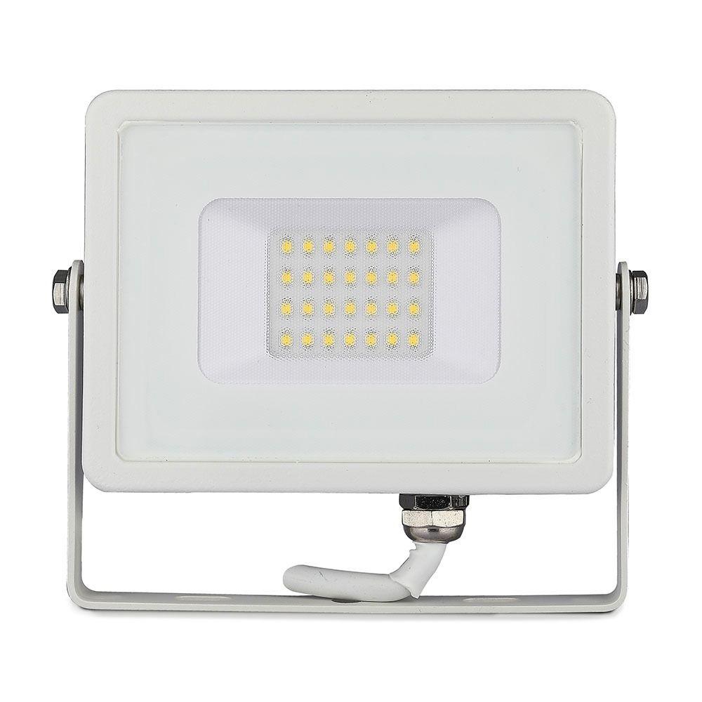 Proiector LED 20W, Corp Alb, Lumina Rece CIP SAMSUNG