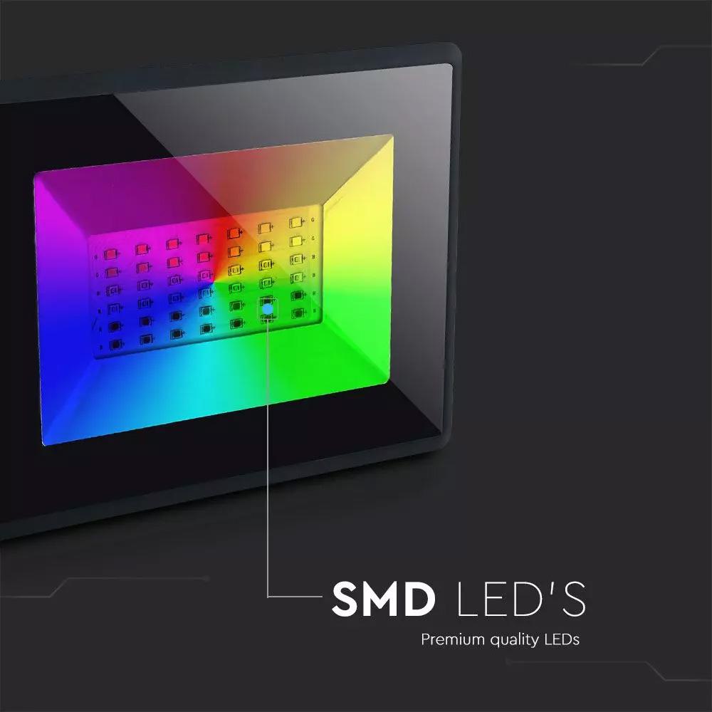 Proiector LED RGB, 30W