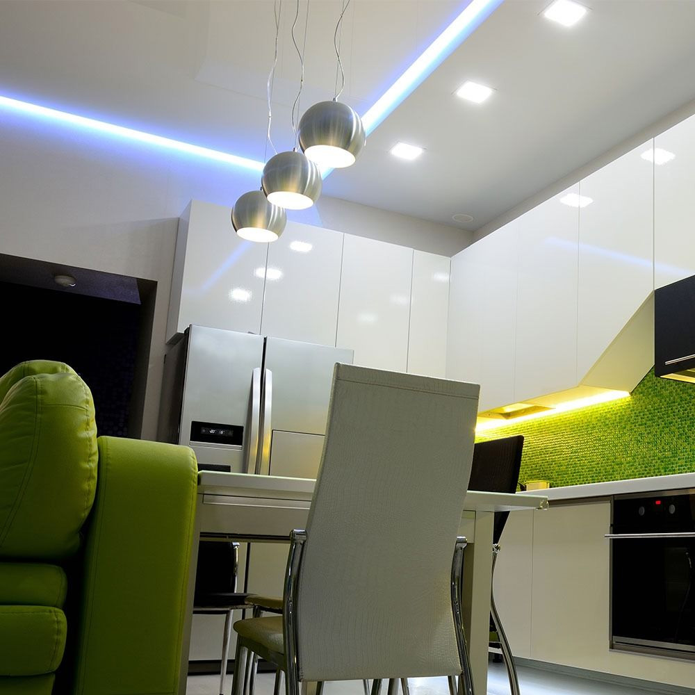 Banda LED SMD2835 238 LED-uri 24V IP20 Lumina Rece, Rola 5 metri