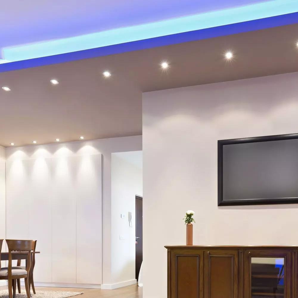 LED Spot GU10, 6W, Ripple, Plastic, 10°, Lumina Calda (3000K) Cip SAMSUNG