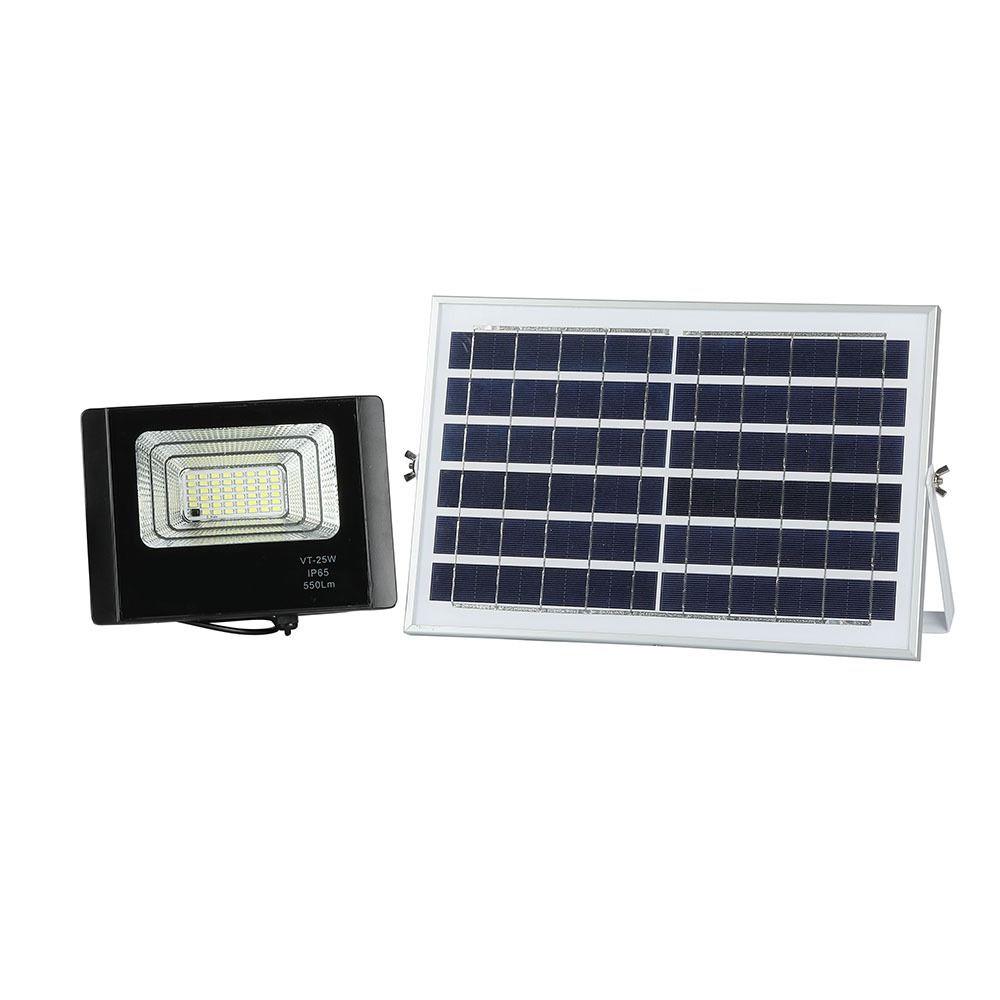 Proiector LED Solar 12W cu Panou Individual, Lumina Naturala