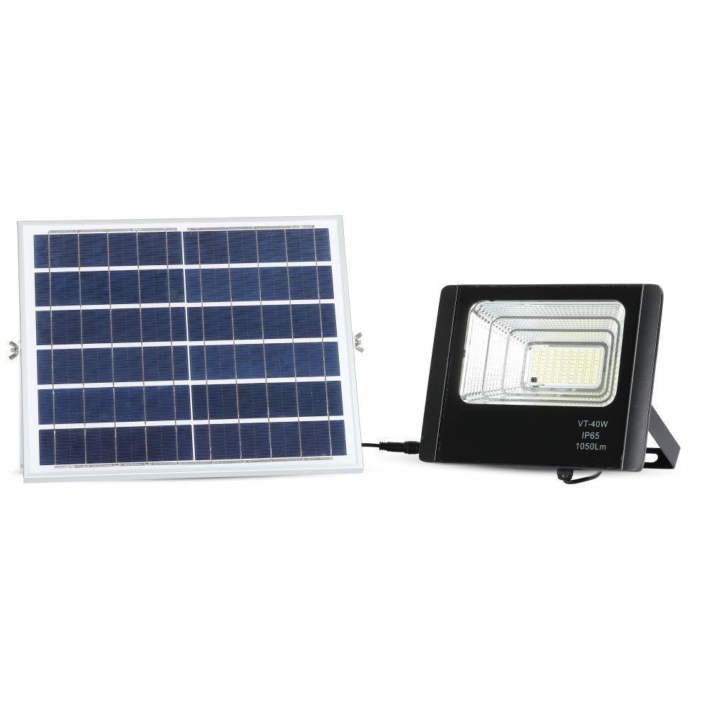 Proiector LED Solar 16W cu Panou Individual, Lumina Naturala