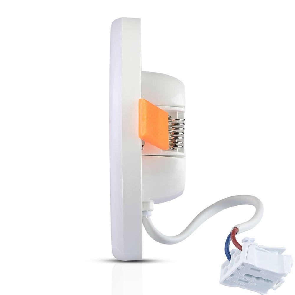 Panou LED Ajustabil 18W, Rotund, Lumina Calda 3000K Cip SAMSUNG