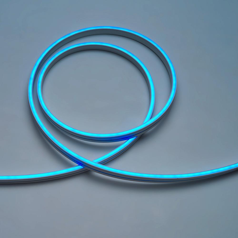 Neon Flex 3Y 4x10, 140LED/M,12W/M,24V, Lumina Albastra