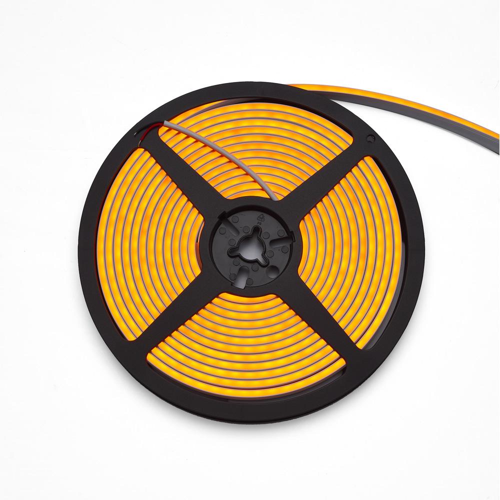 Neon Flex 3Y 4x10, 140LED/M,12W/M, 24V, Lumina Galbena