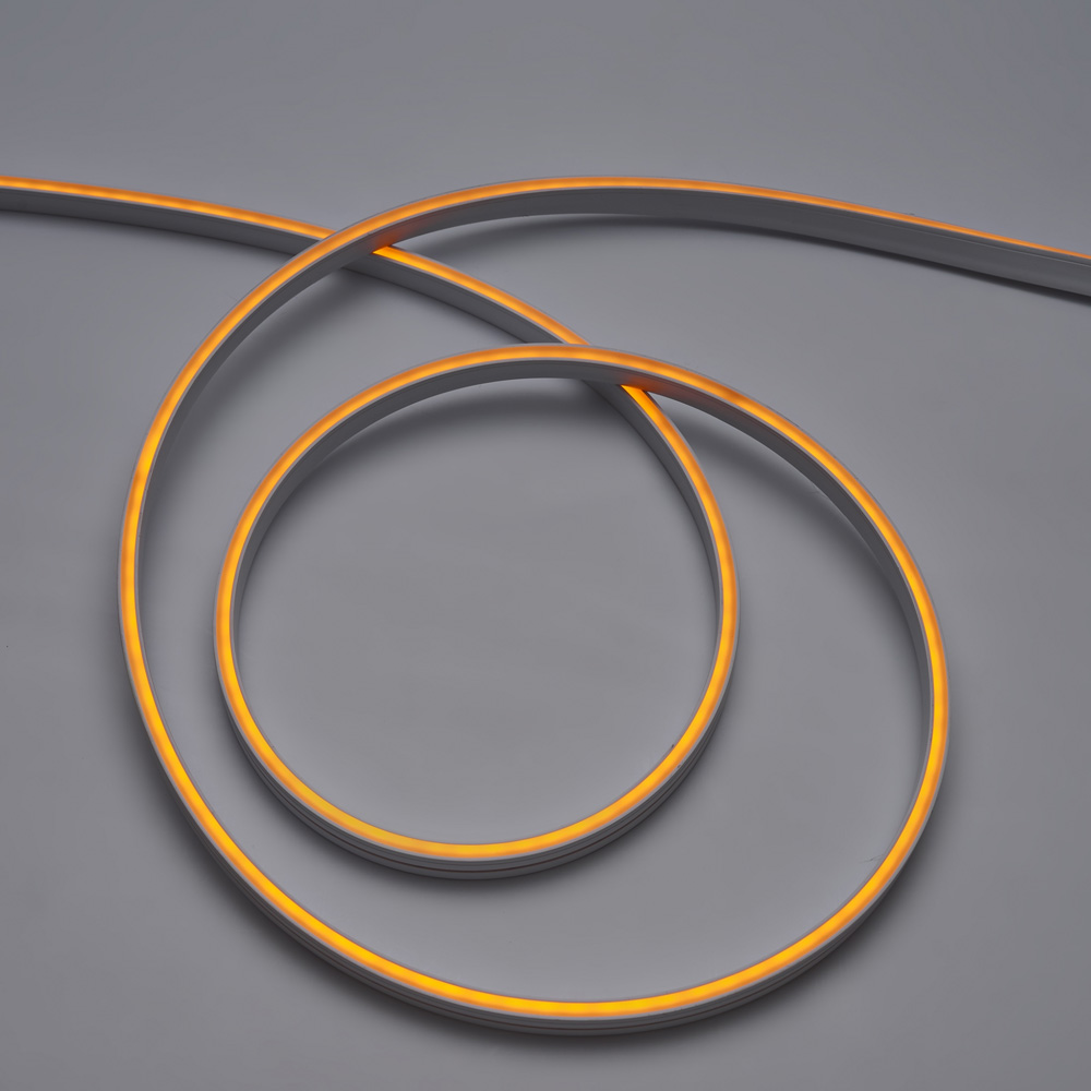 Neon Flexibil 3Y 6x12, 126LED/M, 10.8W/M, 24V, Lumina Galbena