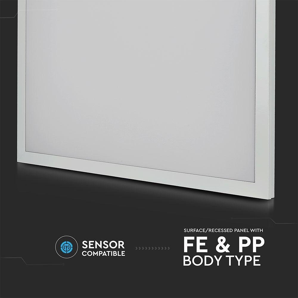 LED Panou Aplicat /Incastrat 40 W Lumina Rece 595x595x29