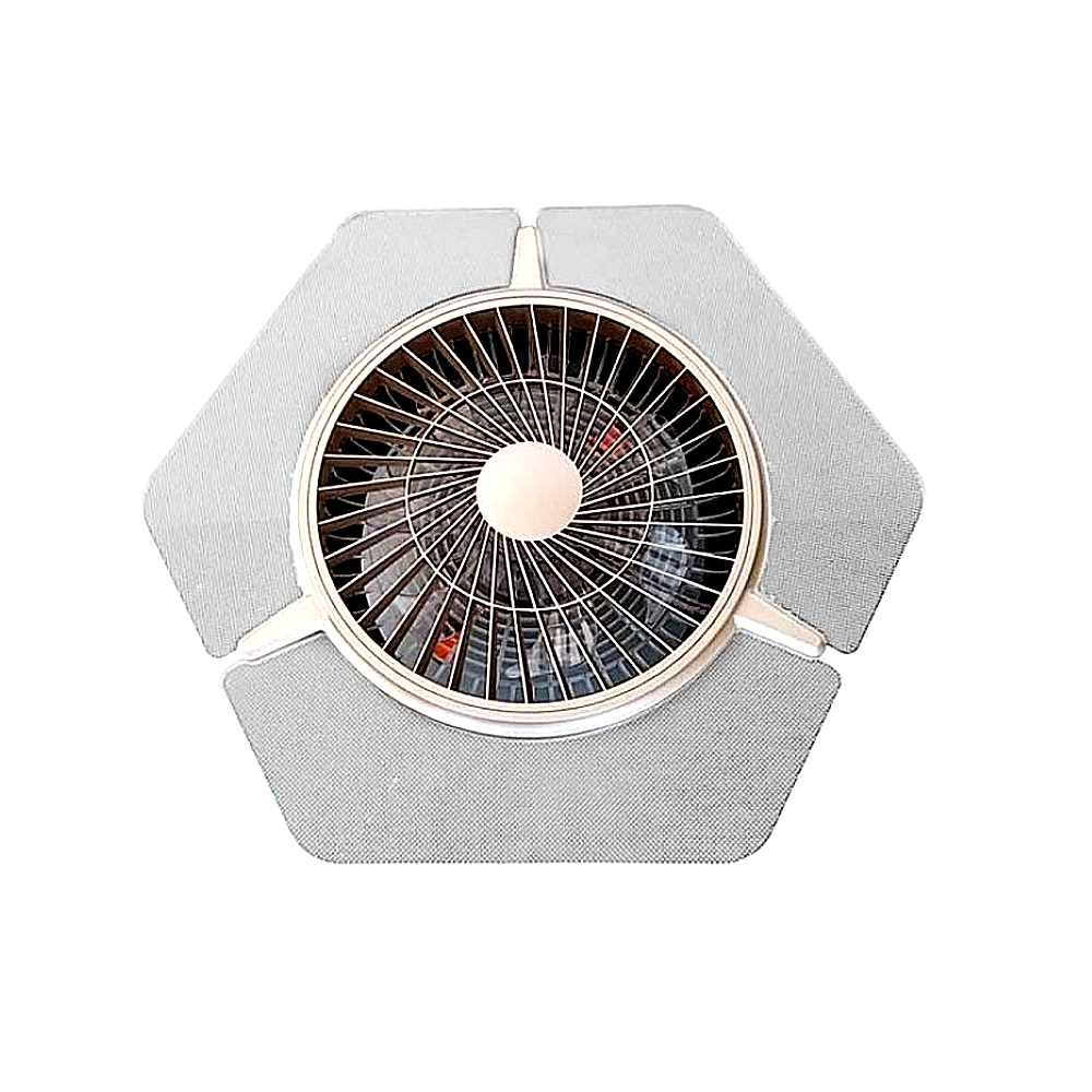 Aplica LED 36W cu Ventilator, 3 temperaturi de Culoare (3000K/4500K/6500K) + Telecomanda