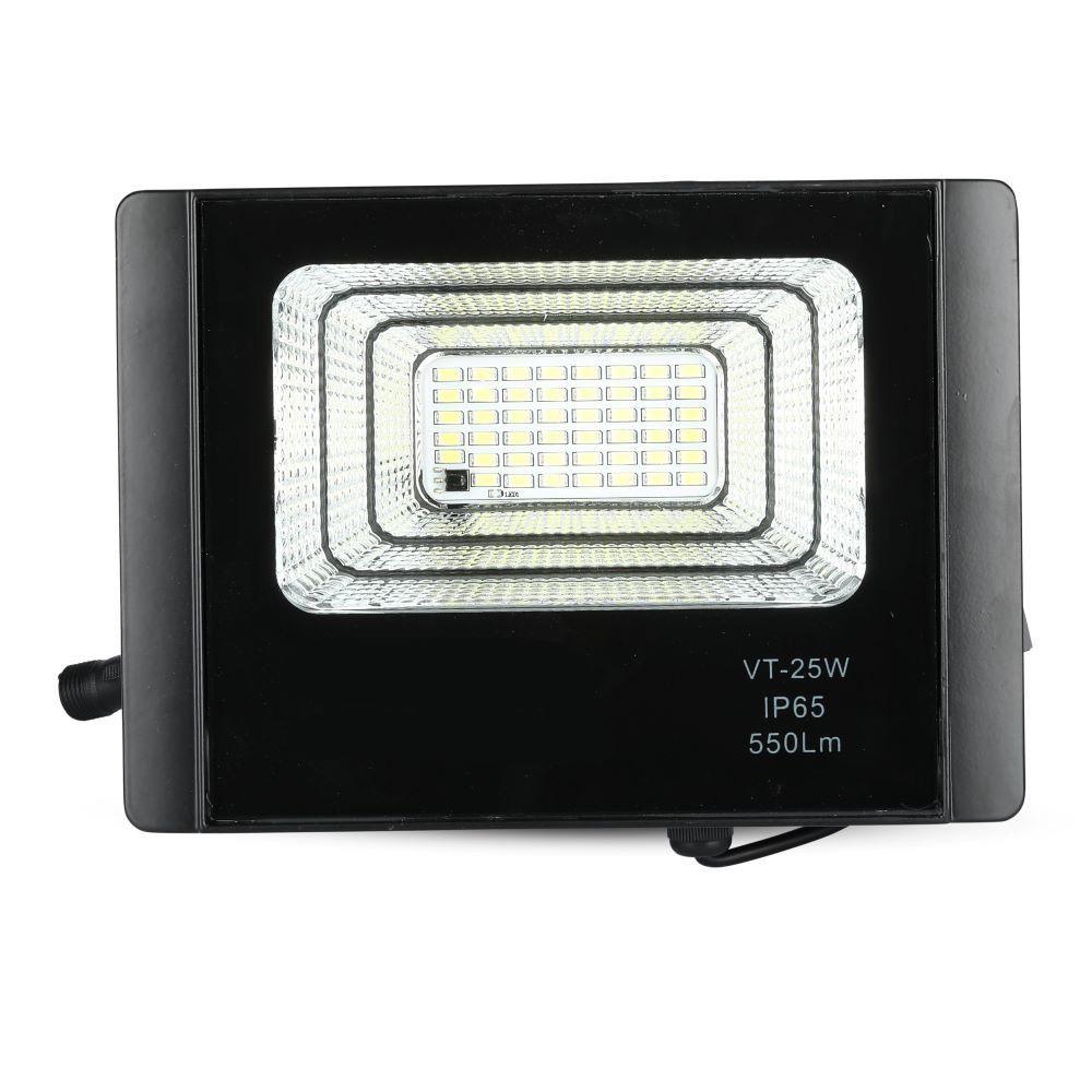 Proiector LED Solar 12W cu Panou Individual, Lumina Rece
