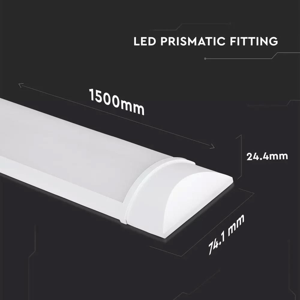 Lampa LED 38W, 150cm, Plastic, Lumina Rece (6400K), 160LM/W, 5 Ani Garantie