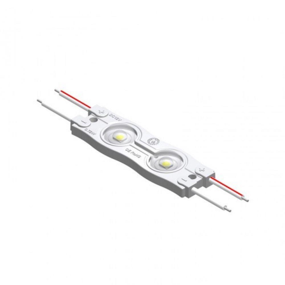 Modul Led 2 Cip-uri, 0.72W, DC12V, IP65, Lumina Rece 6000K