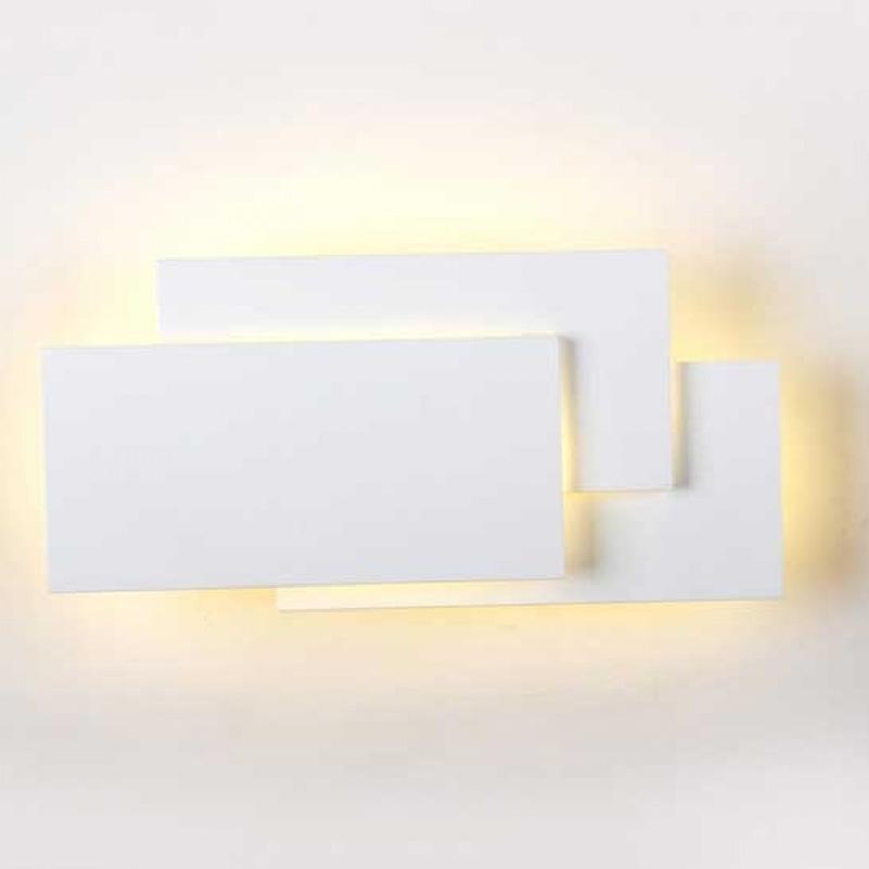 Lampa LED de Perete 12W, Corp Alb, IP20, Lumina Naturala (4000K)