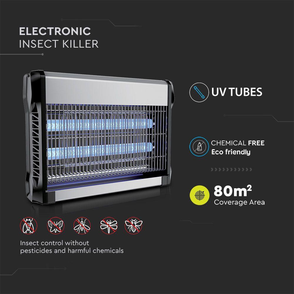 Aparat Anti Insecte Electronic 2 x 10W