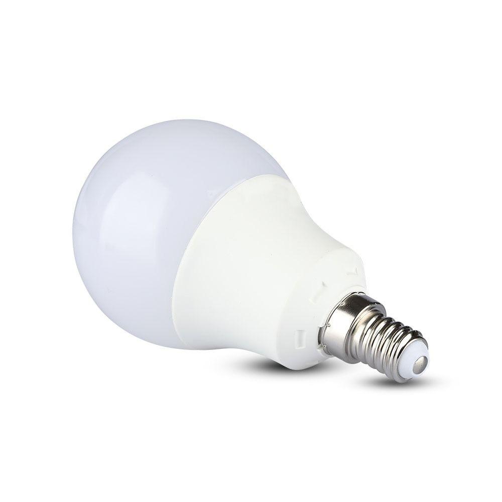 Bec Led SMD Cip Samsung, E14, 9W, Lumina Calda