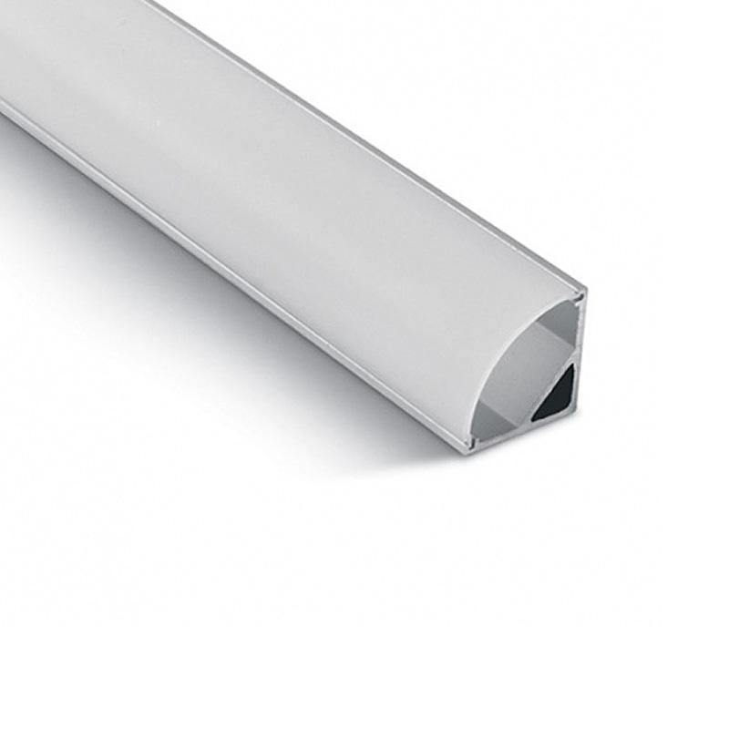 Profil Aluminu 2000 x 15.8 x 15.8mm, aspect laptos